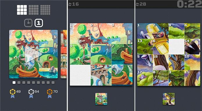 ReOrd é um game para Windows Phone no qual o usuário deve organizar as peças (Foto: Divulgação/Windows Phone Store)