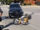 Homem é preso com droga após tentar fugir e colidir com carro