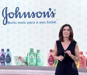 Fátima dá dica para manter o bebê fresquinho no calor (Foto: TV Globo)