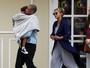 Beyoncé e Jay-Z levam a pequena Blue Ivy ao cinema