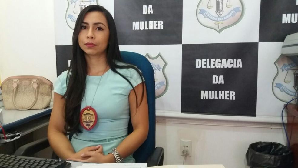 Delegada Lívia Pontes, da DCCM (Foto: Jorge Abreu/G1)