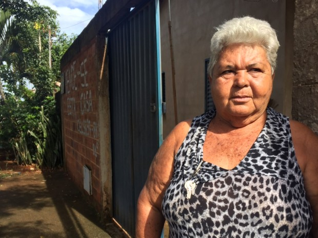 Coraci Rosa Coelho diz que abrigo cumpria função social em Trindade, em Goiás (Foto: Murillo Velasco/G1)