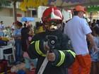 'São super-heróis', diz criança sobre atividades de bombeiros no Amapá