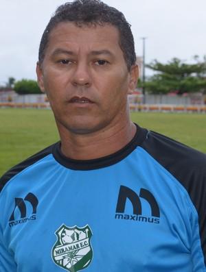 Ramiro Sousa, Miramar, treinador (Foto: Lucas Barros / GloboEsporte.com/pb)