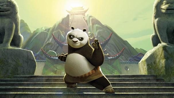 Não perca 'Kung Fu Panda' (2008), o filme que apresenta Po, na Sessão da Tarde de sexta, dia 18 (Foto: Divulgação)