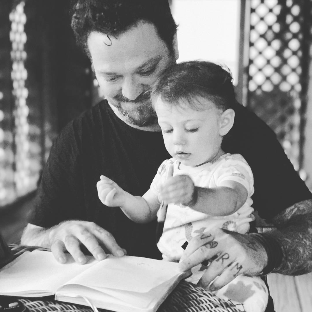 Bam Margera em foto publicada em seu Instagram (Foto: Reprodução/Instagram)