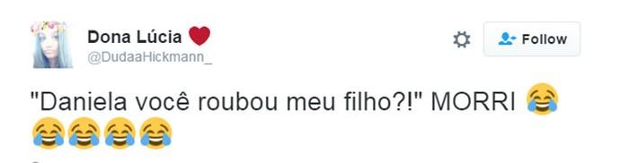 tweet fernanda lima daniela mercury (Foto:  Reprodução/Internet)
