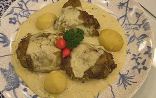 Frango Com Maionese (bourride de Frango)