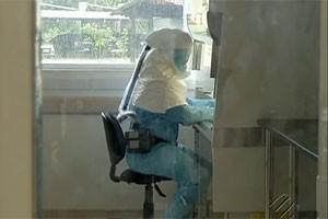 Laboratório do Instituto Evandro Chagas, em Belém (Foto: Reprodução/TV Liberal)