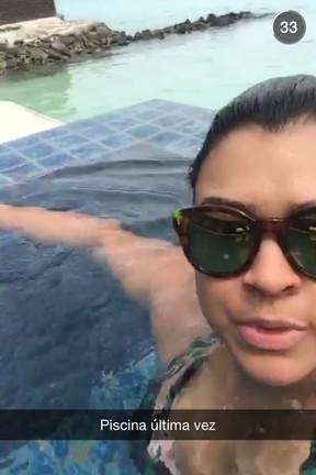 Preta Gil  (Foto: Reprodução/ Snapchat)