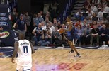 Rodney Hood, do Utah Jazz, deu a melhor assistência da noite da NBA