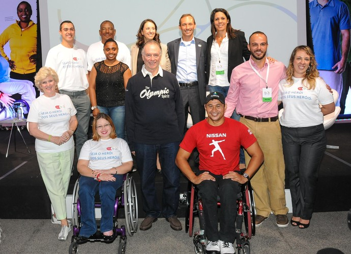 Lançamento do programa de voluntários dos Jogos Rio 2016 (Foto: Alex Ferro / Comitê Rio 2016)