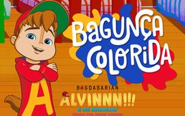 Alvin Bagunça Colorida