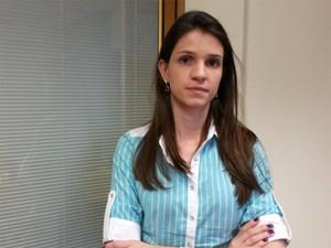 Após tratamento psicológico, Marina diz que consegue lidar melhor com o medo (Foto: Adriano Oliveira/G1)