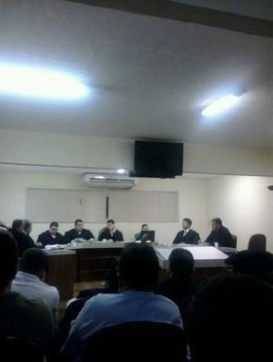 Julgamento 'Caso Assisinho' (Foto: Thaís Jorge)