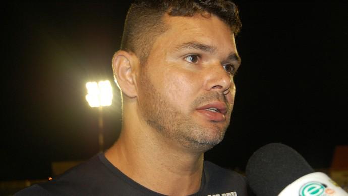 Gilson, goleiro do Treze (Foto: João Brandão Neto / GloboEsporte.com/pb)