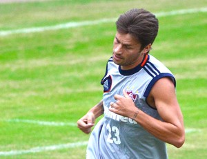 Rafael Sobis treino Fluminense (Foto: Moyses Ferman / Photocamera)