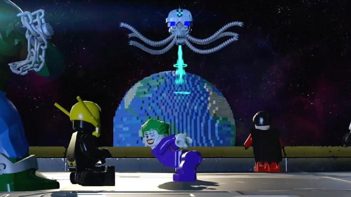 Heróis e vilões unem forças para lutar contra a ameaça de Brainiac (Foto: Comic Vine)