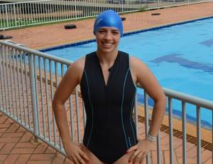 Ana Luíza, atleta de Rio Branco- Ac participa do 1º Wood River Games de Porto Velho (Foto: Lívia Costa)