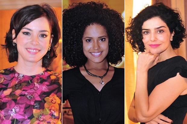 """Cabelos de """"Sangue Bom"""" - Regiane Alves, Nanda Lisboa e Letícia Sabatella (Foto: João Miguel Junior / TV Globo)"""