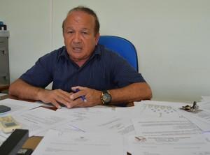Antônio Aquino presidente da Federação de Futebol do Acre (Foto: Duaine Rodrigues)
