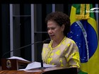 Impeachment no Senado: discurso final de Regina Sousa (PT-PI)