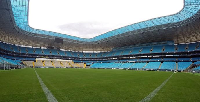 Gramado Arena do Grêmio (Foto: Lucas Uebel/Divulgação Grêmio)