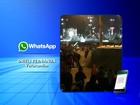 Grupo derruba estrutura de segurança e invade festa junina em Votorantim