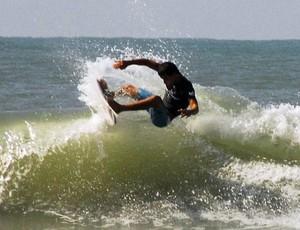 Etapa final de surfe colegial, Praia Grande (Foto: Alexandra Giulietti / Prefeitura Municipal de Praia Grande)