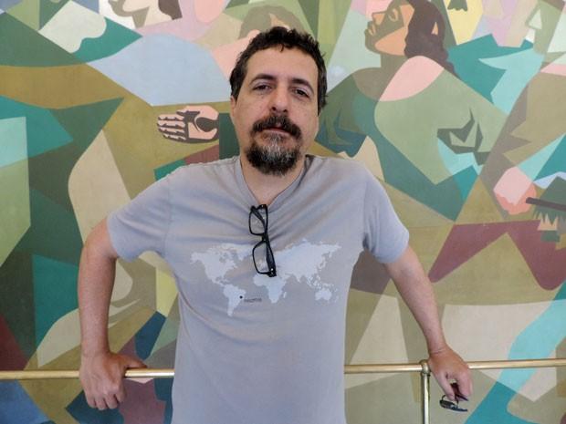 Idealizador do festival, Kleber Mendonça Filho (Foto: Anna Tiago / G1)