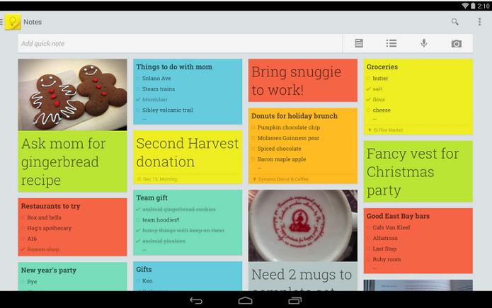 Google Keep foi o app que ganhou mais atualizações (Foto: Google Play/Divulgação) (Foto: Google Keep foi o app que ganhou mais atualizações (Foto: Google Play/Divulgação))