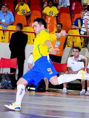 falcão seleção brasileira de futsal (Foto: Cristiano Borges / CBFS)