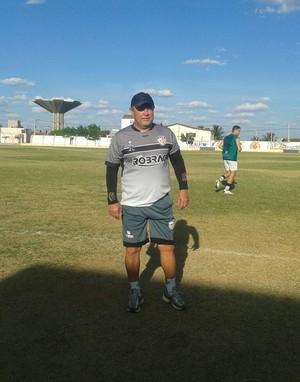 Pedro Manta, técnico do Afogados (Foto: Arquivo Pessoal)