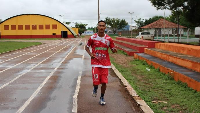 Rafael é o décimo reforço do Guajará (Foto: Júnior Freitas)