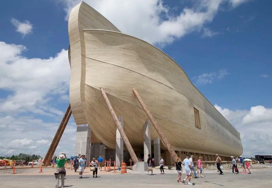 A réplica da arca de Noé