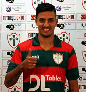 Léo Costa Portuguesa  (Foto: Divulgação/Portuguesa)