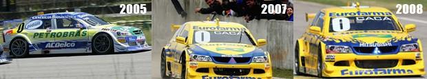 As vitórias de Cacá Bueno, vieram em 2005 na primeira prova de Stock Car no circuito de 3.531 km, em 2007 e 2008. (Foto: Divulgação/Sérgio Sanderson/Luca Bassani/Vicar)
