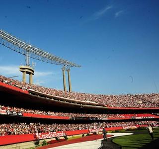 Morumbi São Paulo x Fluminense (Foto: Marcos Ribolli / Globoesporte.com)