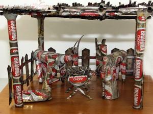 Araraquara tem mostra de presépios artesanais Natal (Foto: João Carlos/ Divulgação)