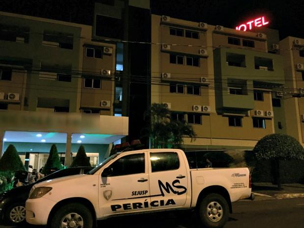 Homem é morto após agressão em quarto de hotel em MS, diz polícia (Foto: Gabriela Pavão/ G1 MS)