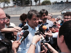 fernando haddad interlagos formula 1 (Foto: Guilherme Costa)