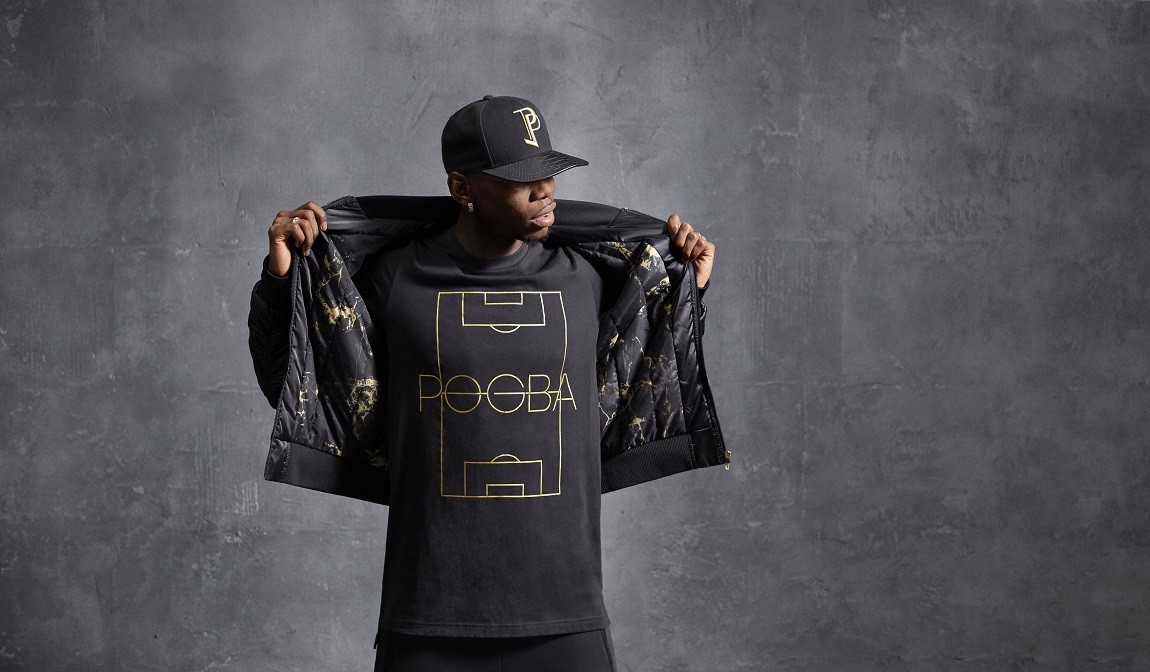 Paul Pogba lança coleção de roupas com a Adidas (Foto: Divulgação)