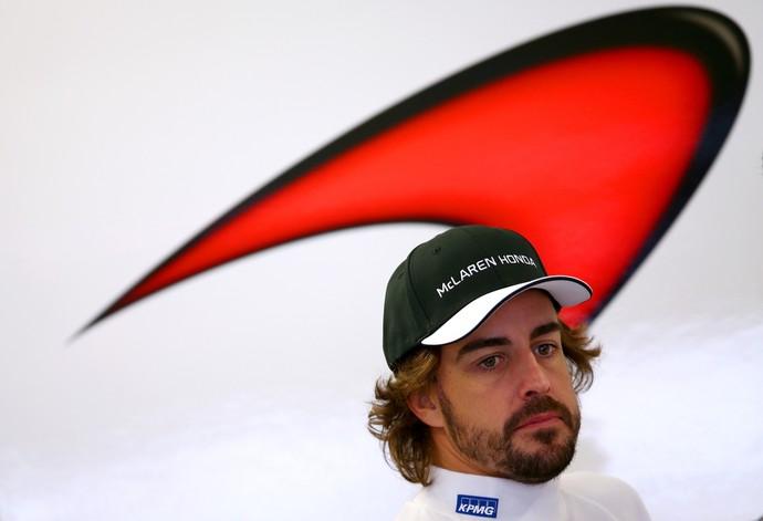 Fernando Alonso McLaren Honda GP da Rússia 2015 (Foto: Getty Images)