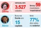 G1 mostra como os eleitores votaram: veja gráficos e números (Editoria de Arte/G1)