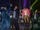 Aprovadas! Bandas comemoram seus resultados na estreia do SuperStar