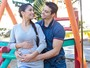 Francisco Barretto e Carol Baptista sobre gravidez: 'Ficha caindo agora'