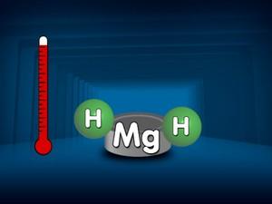Pastilha de magnésio absorve hidrogênio com o aumento da temperatura (Foto: Reprodução/EPTV)