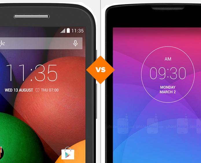 Moto E ou LG Leon? Descubra qual smartphone é o melhor (Foto: Arte/TechTudo)