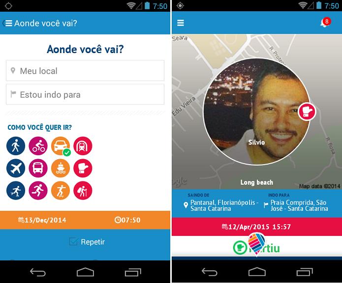 MooveApp é um app para fazer amizades com gostos em comuns (Foto: Divulgação)