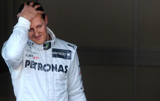 Schumacher, treino GP de Mônaco (Foto: Agência AFP)